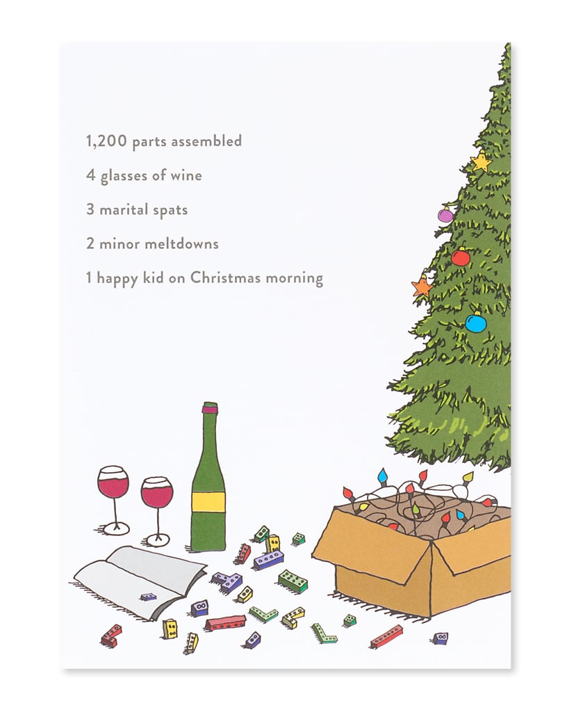 With You Romantic Christmas Card | Funny Holiday Cards | POPSUGAR ...