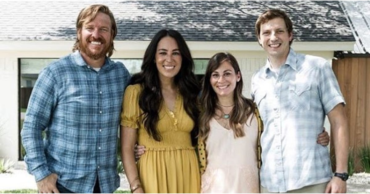 Joanna gaines 39 s favorite fixer upper reveal popsugar moms for Where did joanna gaines go to college