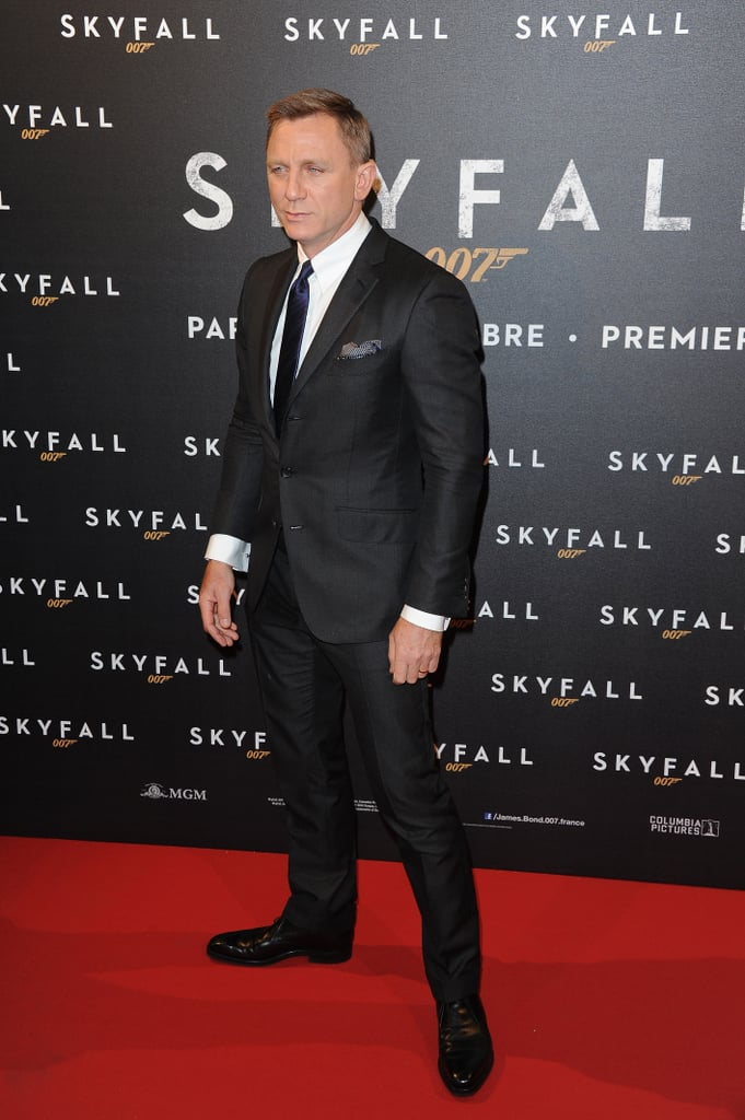 The Stars of Skyfall Take Their Press Tour to Paris