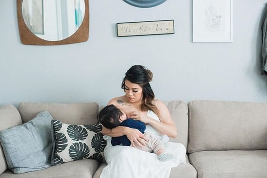 Mom Explains Why She Took Her Breastfeeding Photo Down