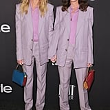 Julia famously matched her stylist, Elizabeth Stewart, in lilac Givenchy suits at the InStyle Awards in 2018.