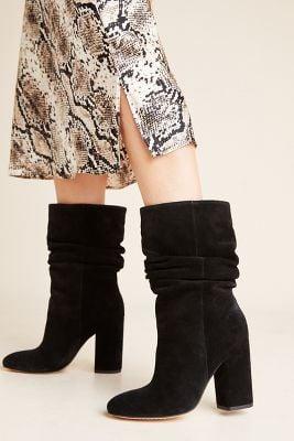 Anthropologie Splendid Slouchy Mid-Calf Boots