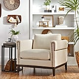 Stone & Beam Westport Modern Nailhead Upholstered Accent Arm Chair