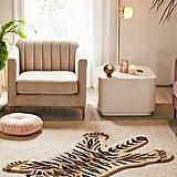 Tufted Tiger-Shaped Rug