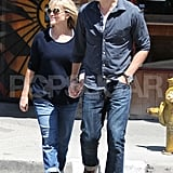 Pregnant Reese Witherspoon went out in LA with Jim Toth.