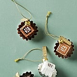 Chocolate Box Ornaments, Set of 4