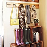 Because they're active and adventurous, Gryffindors often have gear (quidditch, anyone?) and messy shoes that need containing. A mudroom is a must have for members of this house!