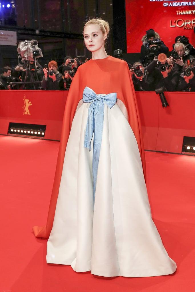 Elle Fanning Valentino Dress at Berlin Film Festival 2018