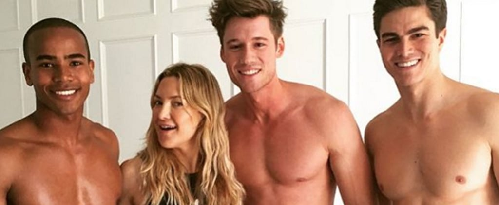 Kate Hudson Celebrates Her Birthday With Friends, Family, and a Whole Bunch of Shirtless Dudes