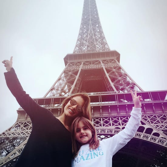 Alessandra Ambrosio in Europe With Her Daughter June 2016