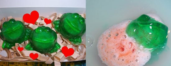 Product of the Day: Exploding Valentine's Frog Soaps