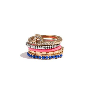 A perfectly stacked set of rings already created for you, courtesy of Madewell's nesting rings ($23).