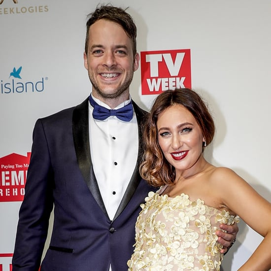 Hamish Blake and Zoe Foster Blake at the 2017 Logies