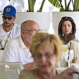 Eva Longoria and Eduardo Cruz enjoyed the Summer day.