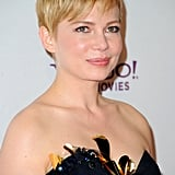 Michelle Williams at the Hollywood Film Awards gala.