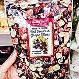 Trader Joe's Freeze Dried Red Seedless Grape Slices ($3)