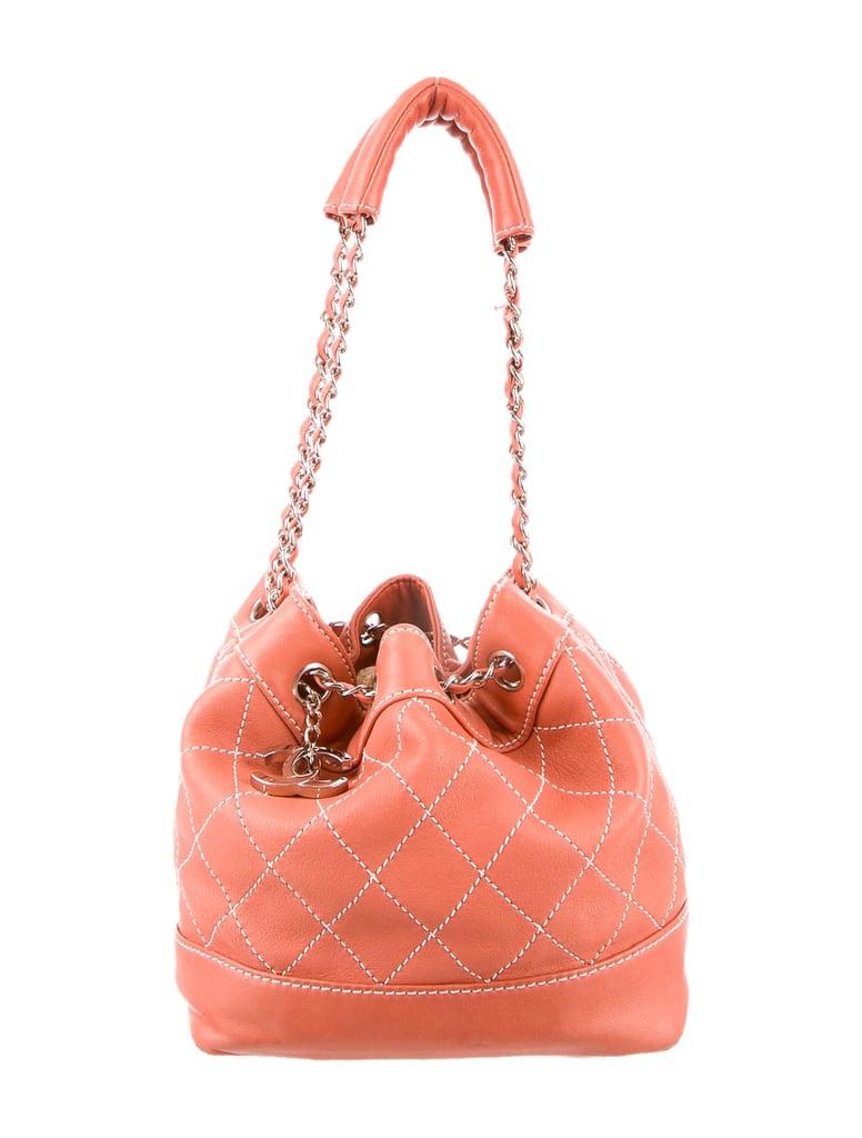 fb523afbfbe6 Chanel Surpique Bucket Bag ($1,295)   Best Bucket Bags   POPSUGAR ...