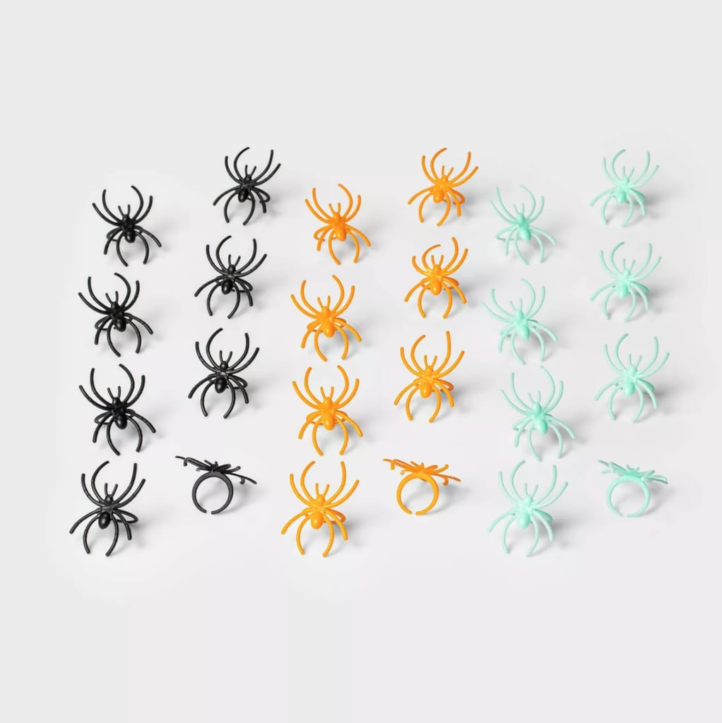 Hyde & EEK! Boutique 24-Count of Spider Rings