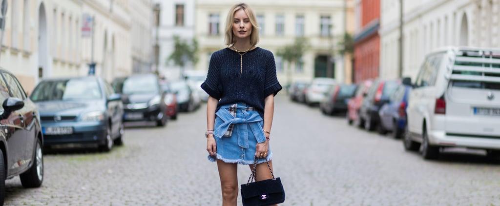 19 Ways to Wear Your Denim Skirt