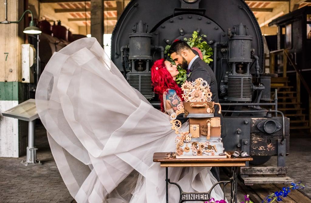 Steampunk-Themed Wedding Ideas