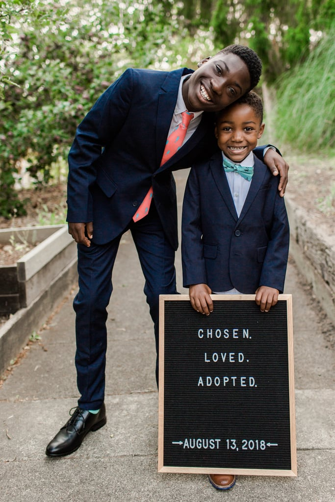 Photos From Michael and Dayshawn's Adoption Day