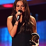 Mila Kunis Makes a Glowing MTV Movie Awards Appearance