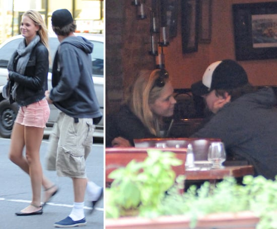 Leonardo DiCaprio Has a Romantic Lunch With Girlfriend Erin