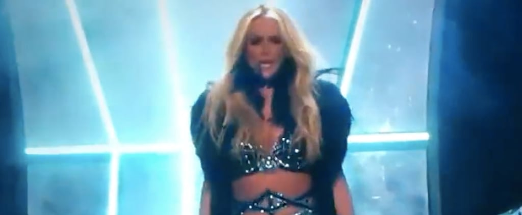 Britney Spears New Year's Eve Performance Video 2018