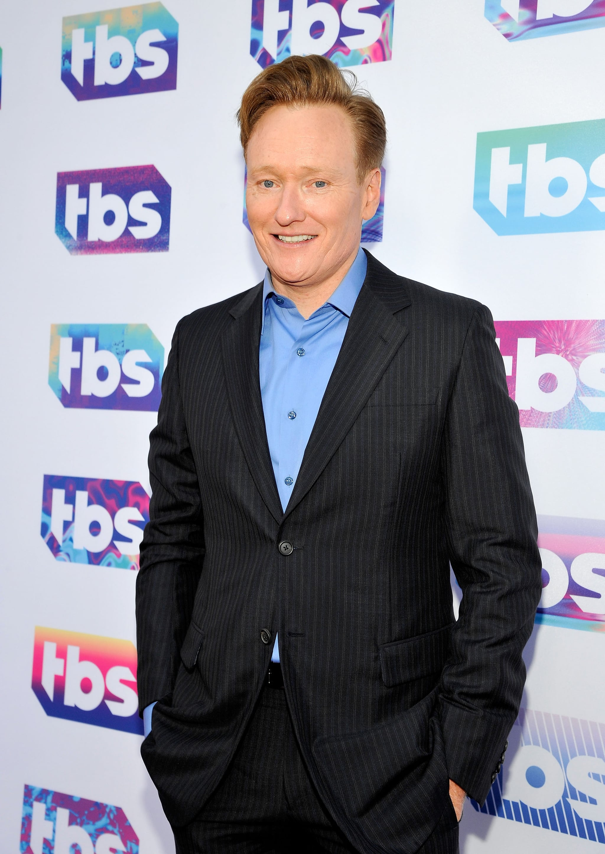 LOS ANGELES, CA - MAY 24:  Comedian Conan O'Brien attends TBS Night Out LA at The Theater at The Ace Hotel on May 24, 2016 in Los Angeles, California. 26162_001  (Photo by John Sciulli/WireImage)