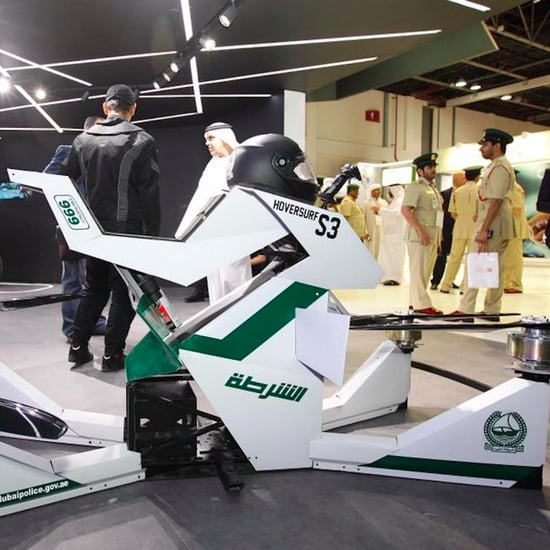 Dubai Police to Use Hovering Bikes