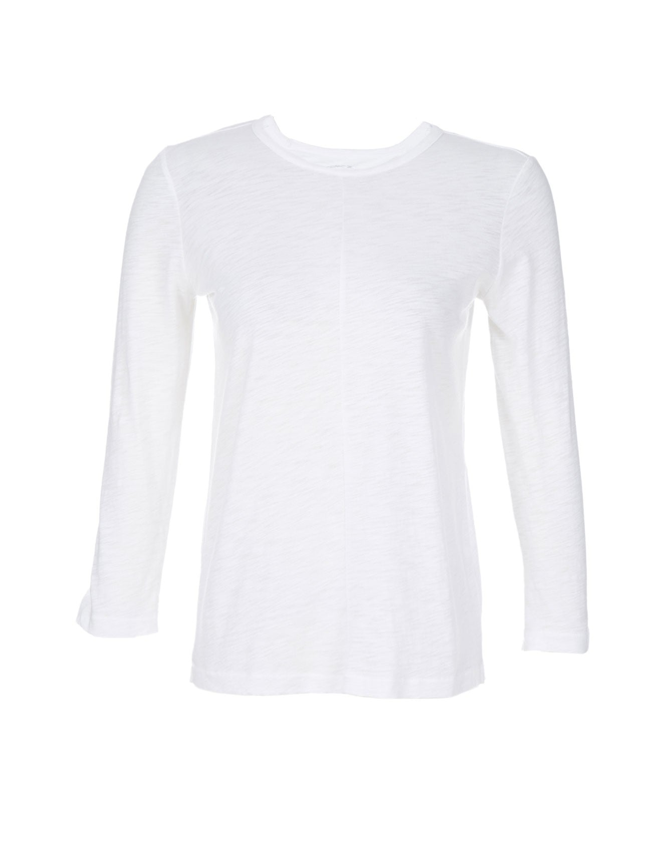 Scoop Three-Quarter-Sleeved Top