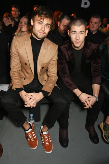 Nick Jonas and Douglas Booth at Topman Show in London