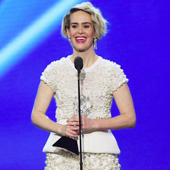 Sarah Paulson's Critics' Choice Acceptance Speech Video 2017