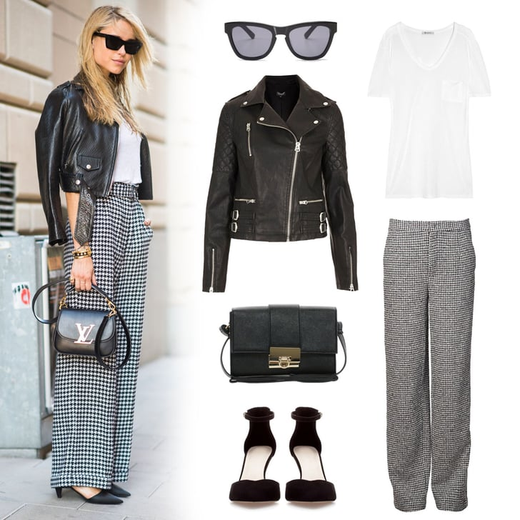 Houndstooth Pants | Street Style