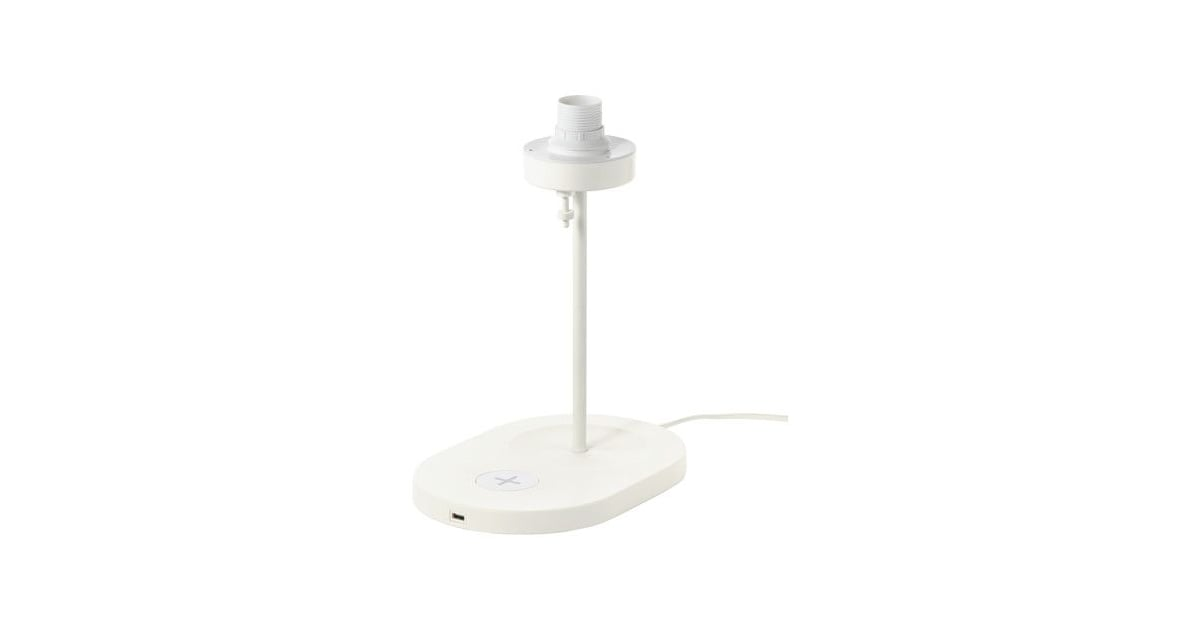 Varv Table Lamp Base With Wireless Charging 65 Tech