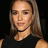 We can't get over the shine coming off of Jessica Alba's straight strands.