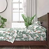 Roostery Sheet Set, Cactus Watercolor Plant