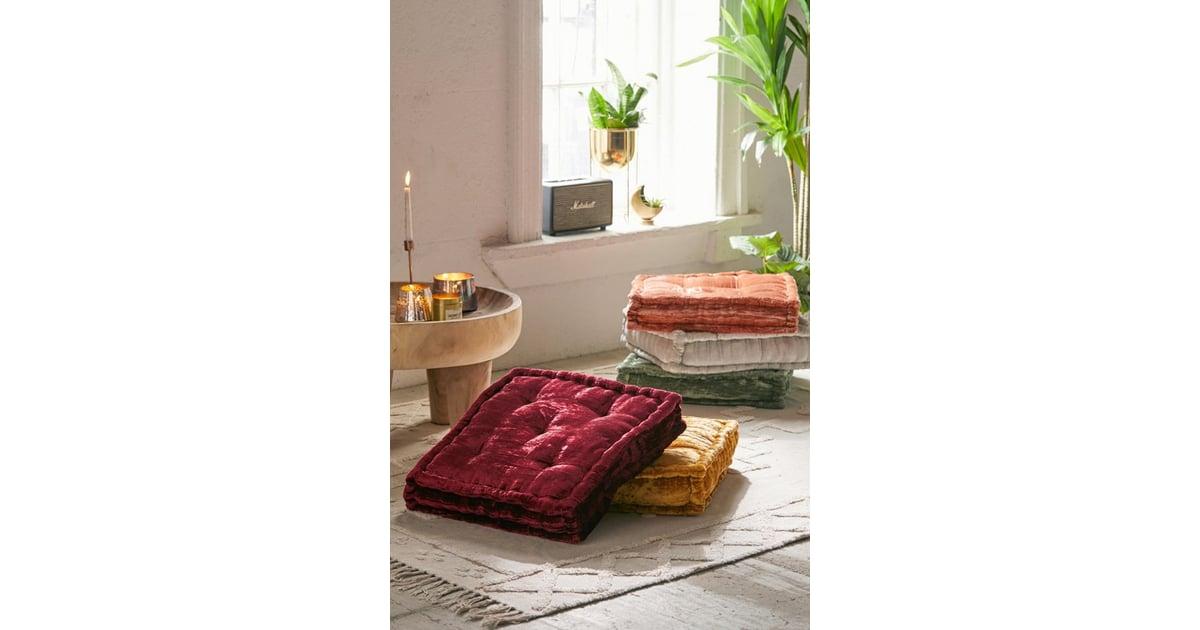 Ruthie Velvet Floor Pillow | Daybed