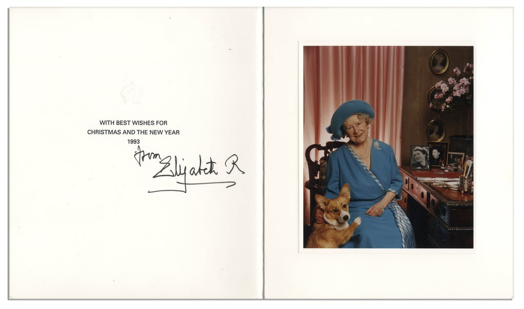 From the Queen Mother, 1993