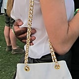Is there nowhere that a Chanel purse doesn't look perfect?