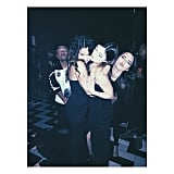 Selena Gomez had a fun night out with the Jenner sisters. Source: Instagram user kyliejenner