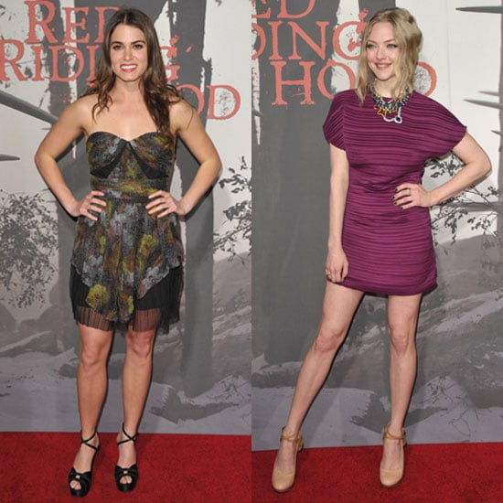 Pictures of Nikki Reed, Catherine Hardwicke, and Amanda Seyfried at Red Riding Hood Premiere