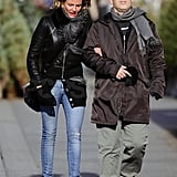 Cameron Diaz bundled up in chilly NYC.