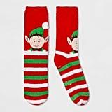 Women's Holiday Elf Casual Socks