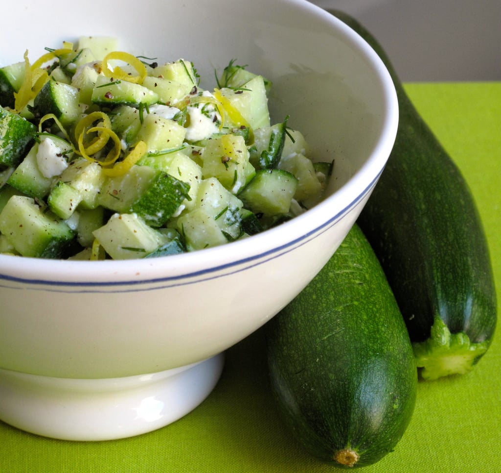 Zucchini With Feta and Lemon Zest