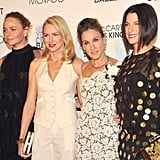 Naomi Watts, Stella McCartney, Sarah Jessica Parker, and Jessica Seinfeld's night out in NYC.