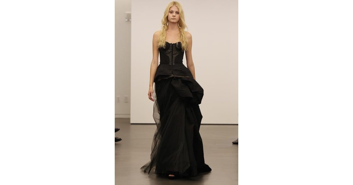 Vera Wang Black Wedding Dresses [Pictures] | POPSUGAR Fashion