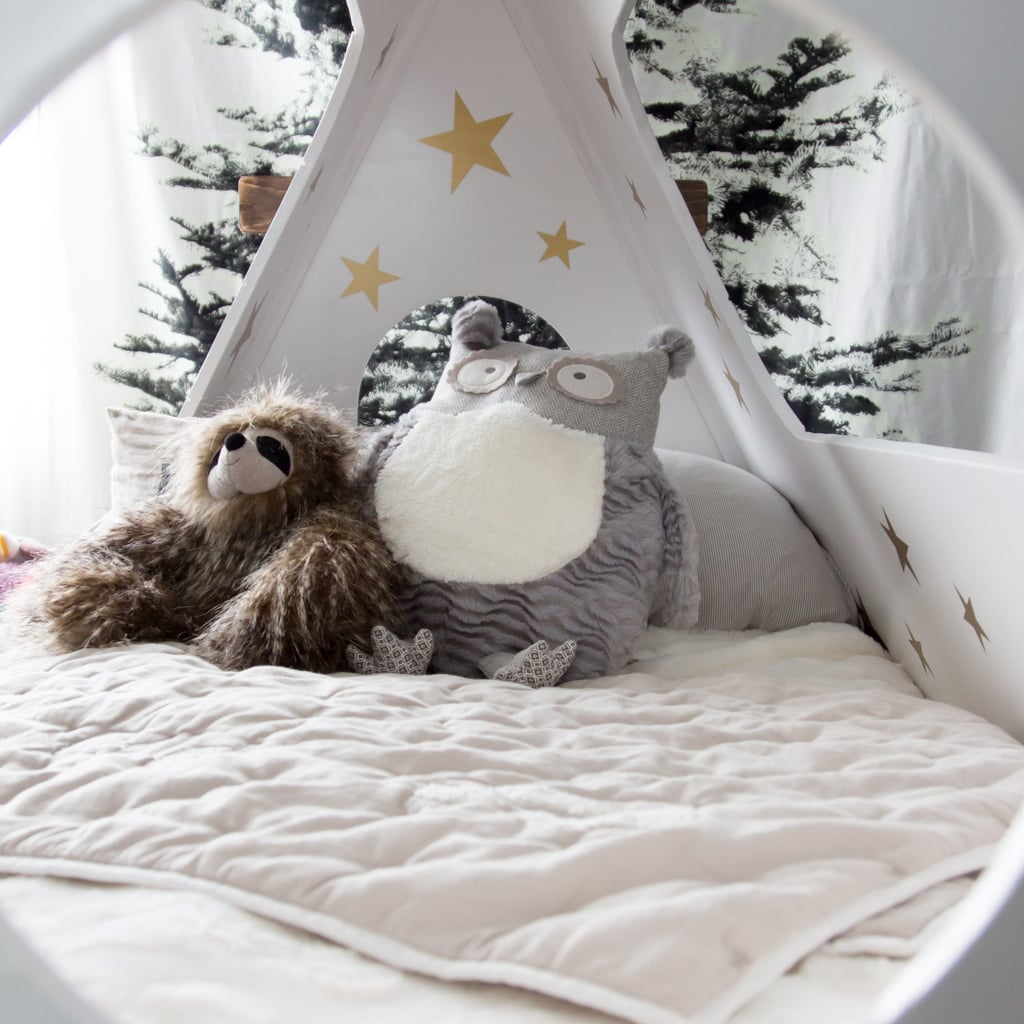 Painted stars forest inspired stuffed animals and indoor