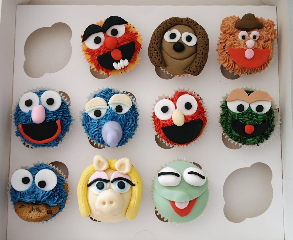 So Many Muppet Cupcakes Muppet Birthday Cake Ideas