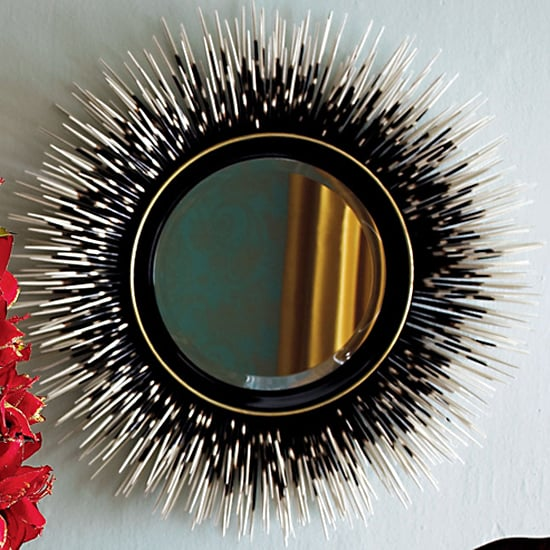 Janice Minor Porcupine Quill Mirror, $700